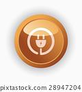 plug, icon, design 28947204