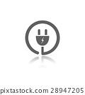 plug, icon, vector 28947205