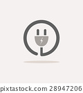 plug, icon, vector 28947206