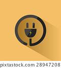 plug, icon, vector 28947208