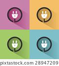 plug, icon, vector 28947209