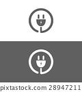 plug, icon, vector 28947211