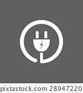 plug, icon, vector 28947220