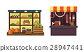 Fruit, vegetables, milk products, meat, bakery 28947441