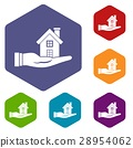 set, house, hand 28954062