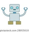robot, robotic, cartoon 28955610