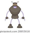 robot, warrior, cartoon 28955616