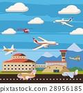 航空 機場 概念 28956185