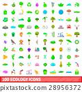 100, ecology, icons 28956372