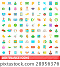 100 finance icons 28956376