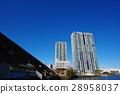 타워 아파트, 푸른 하늘, 모노레일 28958037