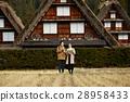 長滿茅草的椽架屋頂 遊覽 旅遊業 28958433