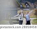 長滿茅草的椽架屋頂 遊覽 旅遊業 28958458