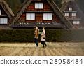長滿茅草的椽架屋頂 遊覽 旅遊業 28958484