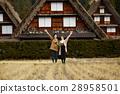 長滿茅草的椽架屋頂 遊覽 旅遊業 28958501