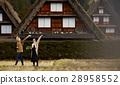 长满茅草的椽架屋顶 旅游业 观光 28958552