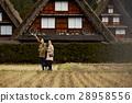 長滿茅草的椽架屋頂 遊覽 旅遊業 28958556