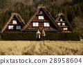 長滿茅草的椽架屋頂 遊覽 旅遊業 28958604