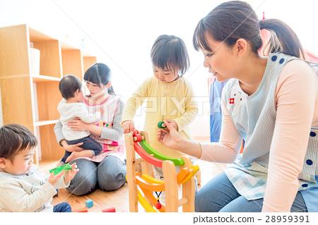 영유아 보육, 놀이 촬영 협조 : RYOZAN PARK 오오츠카 28959391