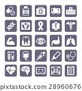 医疗图标集 28960676