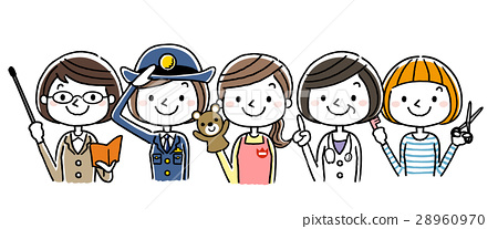 職業女性,職業:集,變異 28960970