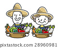 矢量 農業 農作 28960981