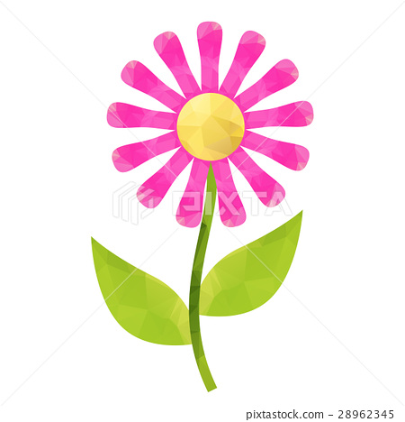 flower with polygonal 28962345