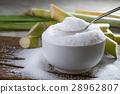 granulated sugar in silver spoon Empty read 28962807