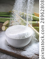 Sugar being poured into a bowl diabetes concept 28962808