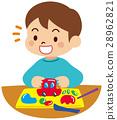 점토, 공작, 아이 28962821