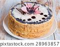 sponge, cake, poppy 28963857