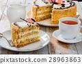 sponge, cake, piece 28963863