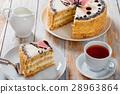sponge, cake, piece 28963864