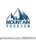 mountain, tourism, icon 28964010