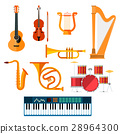 Musical wind, key or string vector instruments 28964300