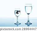 fish in drinking glass looking for rise  28964447