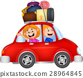 Family traveling with car 28964845