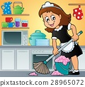 Cleaning lady theme image 3 28965072