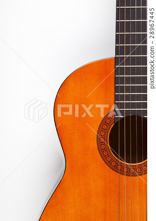 Detail of acoustic guitar 28967445