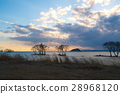 琵琶湖 风景 晚景 28968120