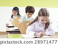공부, 초등학생, 수업 28971477