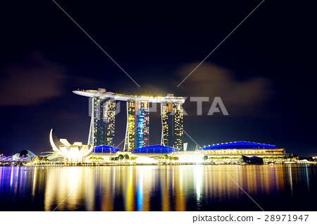 新加坡夜景 28971947