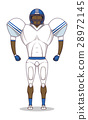 American football uniform 28972145