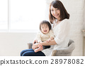 父母和小孩 親子 笑容 28978082