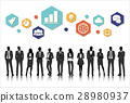 Vector UI Illustration Business People Concept 28980937