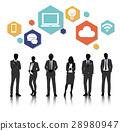 Vector UI Illustration Business People Concept 28980947