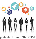 Vector UI Illustration Business People Concept 28980951