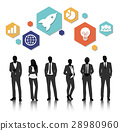 Vector UI Illustration Business People Concept 28980960
