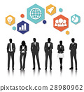 Vector UI Illustration Business People Concept 28980962