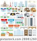 建築圖標集 28981260